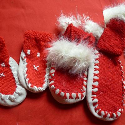 Chaussons noel